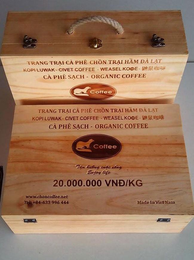 Trang trại cà phê chồn tại Đà Lạt Cf1