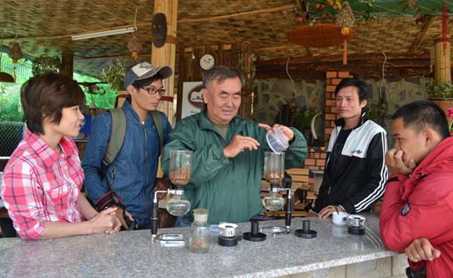 Trang trại cà phê chồn tại Đà Lạt Cf9