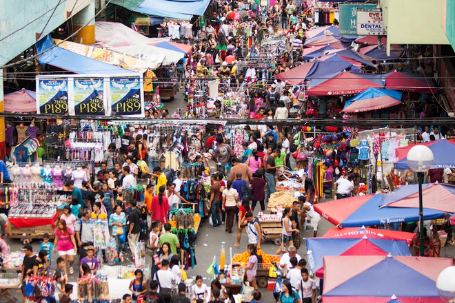 Những khu chợ giá rẻ đông khách nhất thế giới Manila