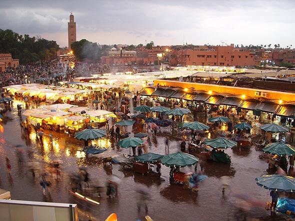 Những khu chợ giá rẻ đông khách nhất thế giới Marrakeshmarket