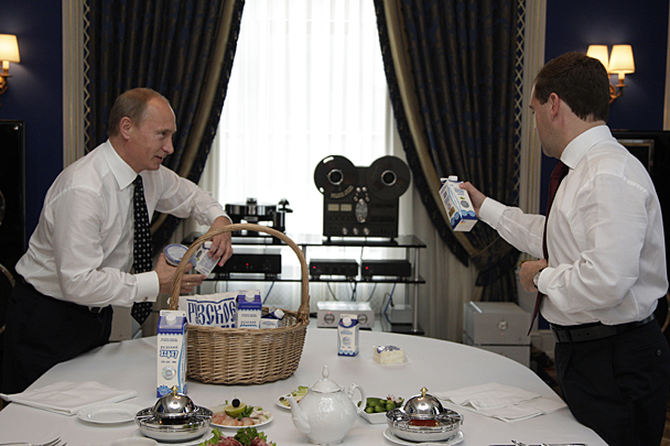 Putin e Medvedev Audiófilos 444201