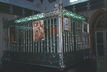 الإمام شرف الدين البوصيري صاحب البردة Busiri-schrein