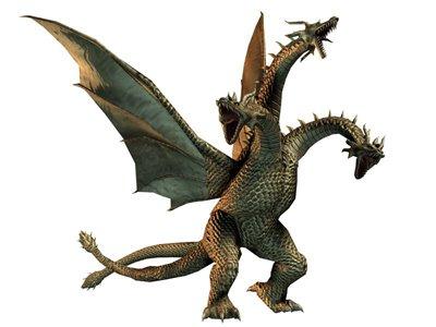 MEGA PACK #2 de criaturas del Dr.Alpha King_ghidorah