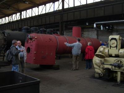 Dampftage Meiningen 2009 Kesselschmiede