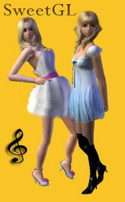 Descargas para tus sims: Conversión y mezcla de vestido/zapatos de CottonHouse & PeggyZone para tus chicas adolescentes Chpz1