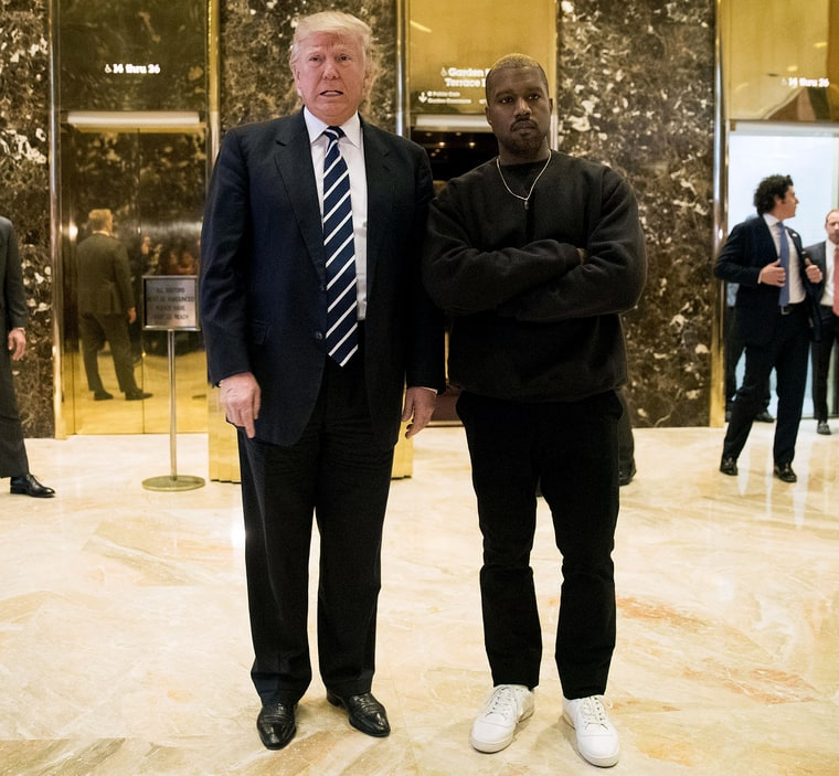 ¿Cuánto mide Kanye West? - Altura - Real height Donald-trump-kanye-west-zoom-1477c487-4929-4650-9abb-067dccca87f8