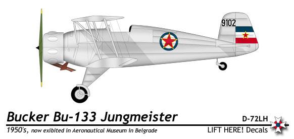 Bücker 133D-1 Jungmeister 111_1