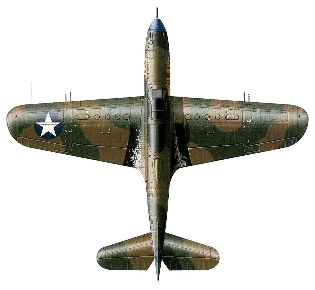 Bell P-400 Airacobra au 1/48 ( Eduard 8061 ) --> P-39 N  3_25_b2_a1