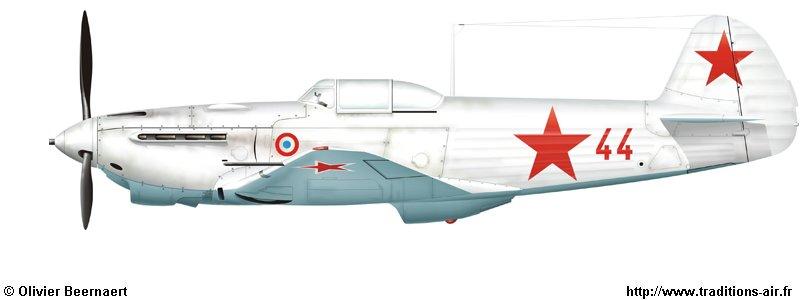 [icm] les yak 9 du Normandie 1_25_b1