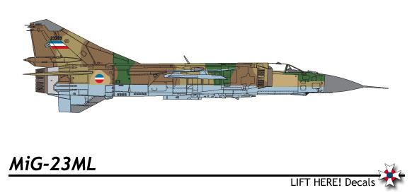 MiG-23 iračkog RV na a Bihać 233_1