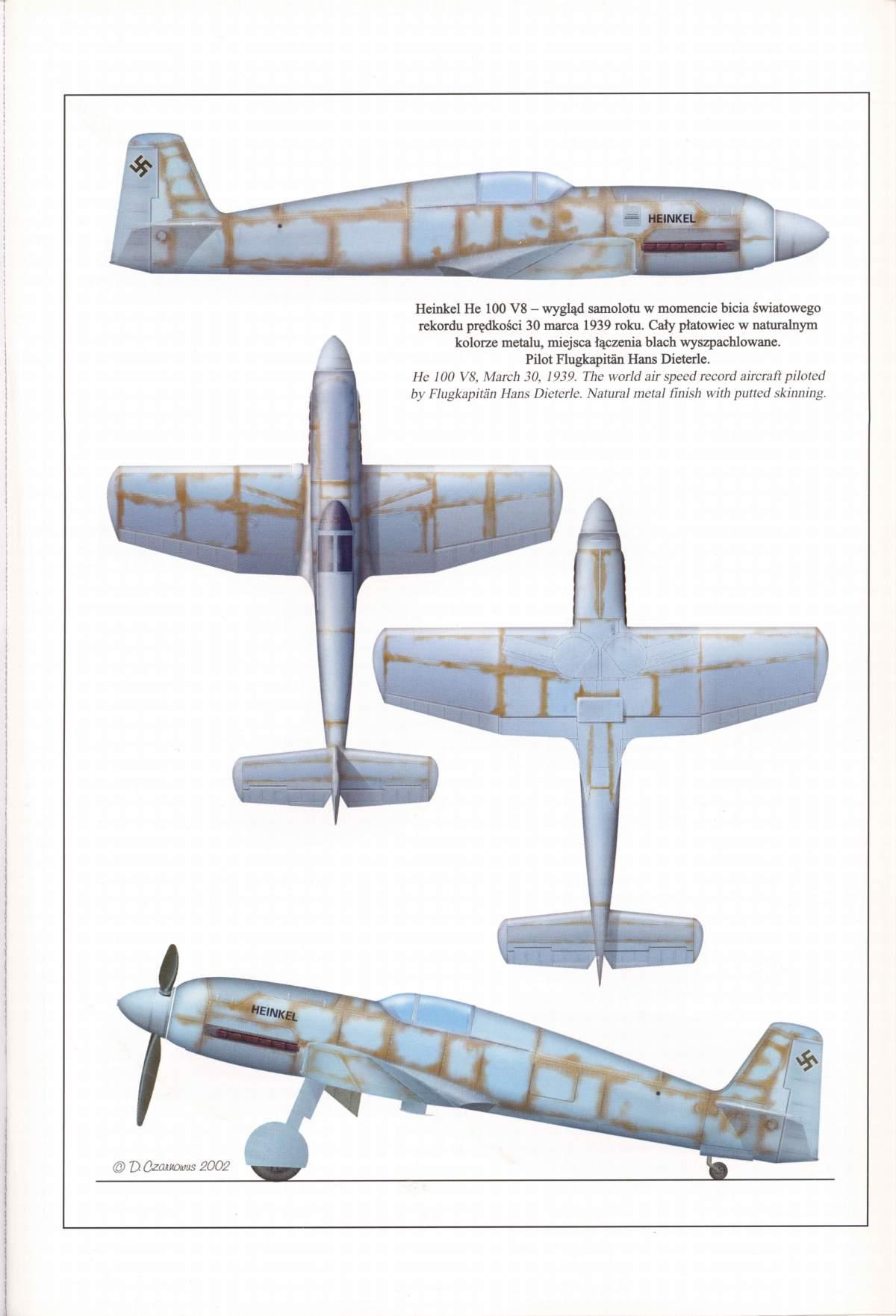 Heinkel He 100D en duo, 1:48 HiPM & 1:72 MPM 2_11