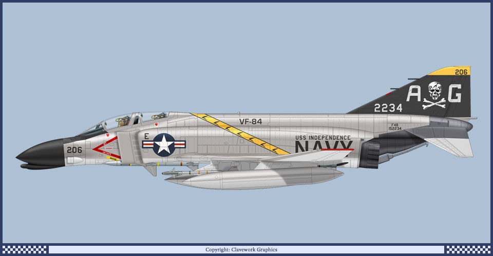 McDonnell Douglas F-4 Phantom IIN (interceptor y cazabombardero supersónico, biplaza, bimotor y de largo alcance USA) 3_89_b1