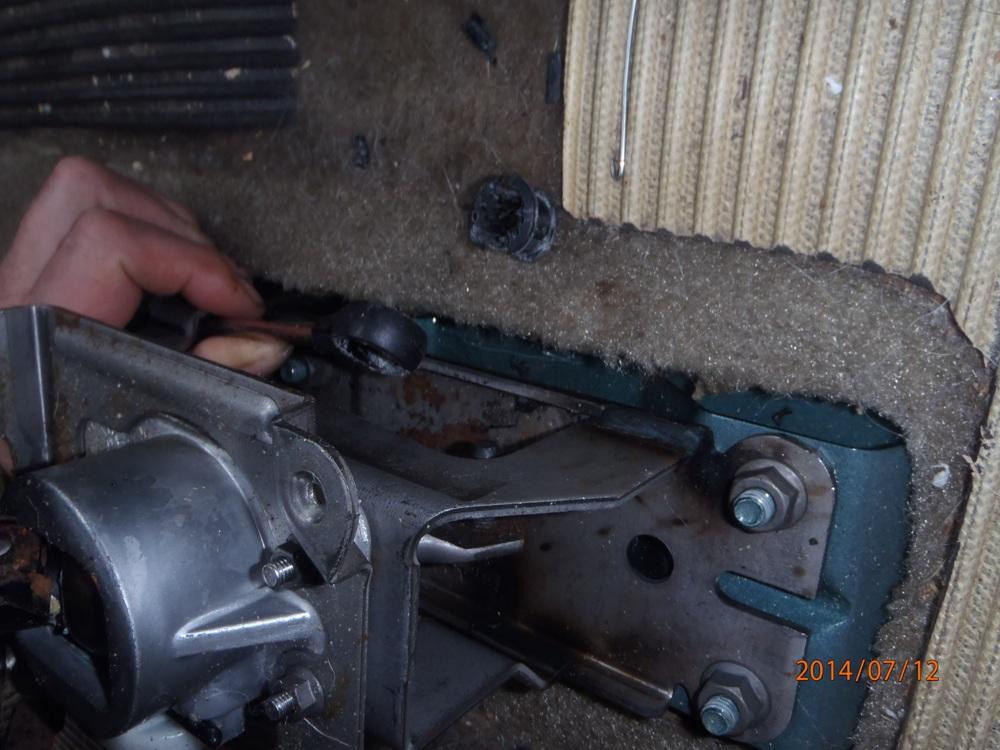 levier de vitesse dans le vide P7120010-46a4d69