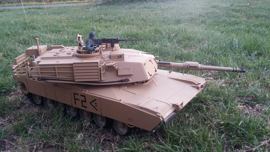 [VENDS] Tank 1/16 Heng Long M1A2 Abrams + beaucoup d'options.  20150905_201037-4ca0371