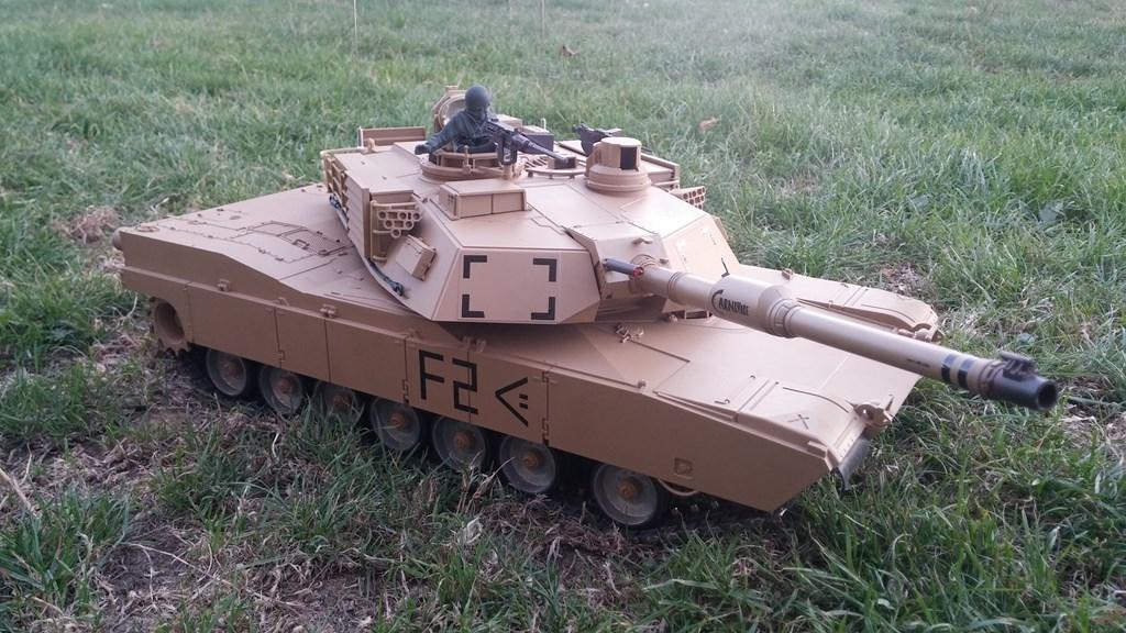 [VENDS] Tank 1/16 Heng Long M1A2 Abrams + beaucoup d'options.  20150905_200947-4ca0326