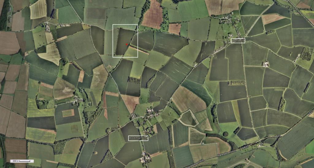 Tarlton - Gloucestershire. Le 18 Avril 2017. Localisation-522833b
