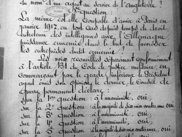 Une petite histoire par jour (La France Pittoresque) - Page 3 Jugement_mata-hari-53f3b83