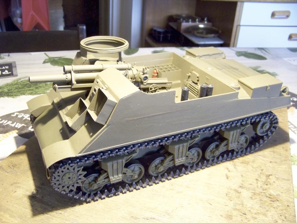 """M7 B1 105 Howitzer Gun Motor Carriage """"Priest"""" - Heng Long - 1/16e - Page 2 103_4053-4e12241"""