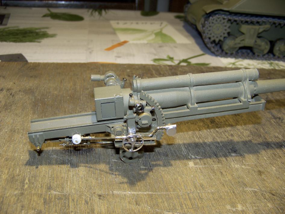 "M7 B1 105 Howitzer Gun Motor Carriage ""Priest"" - Heng Long - 1/16e - Page 2 Elevation-system-2-4e0da3c"