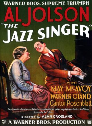 Une petite histoire par jour (La France Pittoresque) - Page 16 The_jazz_singer_1927_poster-5530699