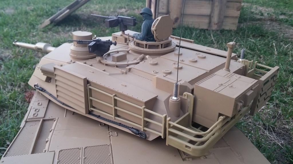 [VENDS] Tank 1/16 Heng Long M1A2 Abrams + beaucoup d'options.  20150905_201105-4ca0384