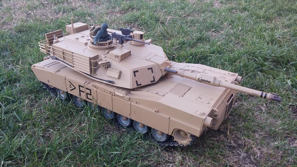 [VENDS] Tank 1/16 Heng Long M1A2 Abrams + beaucoup d'options.  20150905_193606-4ca02f9