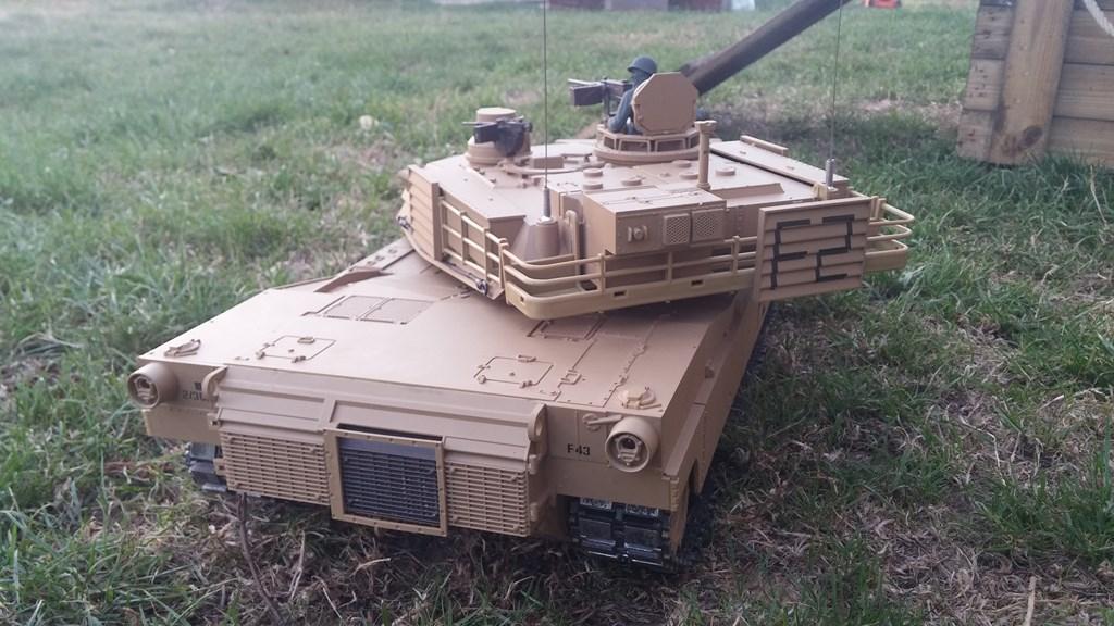 [VENDS] Tank 1/16 Heng Long M1A2 Abrams + beaucoup d'options.  20150905_201055-4ca037c