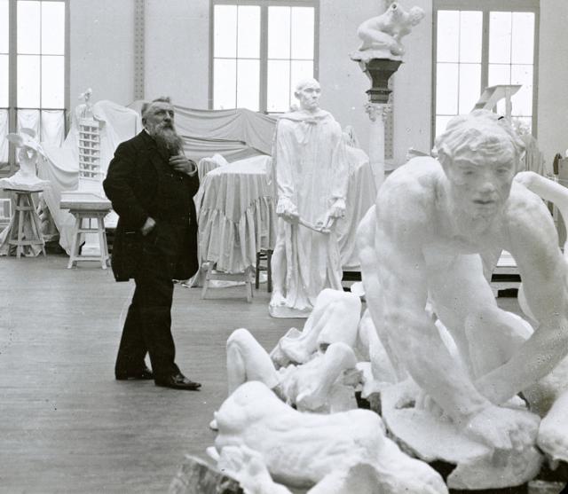 Une petite histoire par jour (La France Pittoresque) - Page 6 Rodin16_atelier-531b7c2