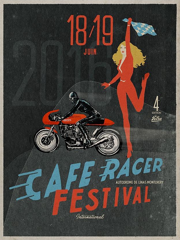 Café racer festival Montlhéry (91) 18 et 19 juin 2016 Cafer-racer-2016-4fa68e3