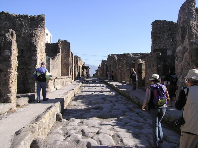 La Campanie ... en 2006 Pompei-511bece