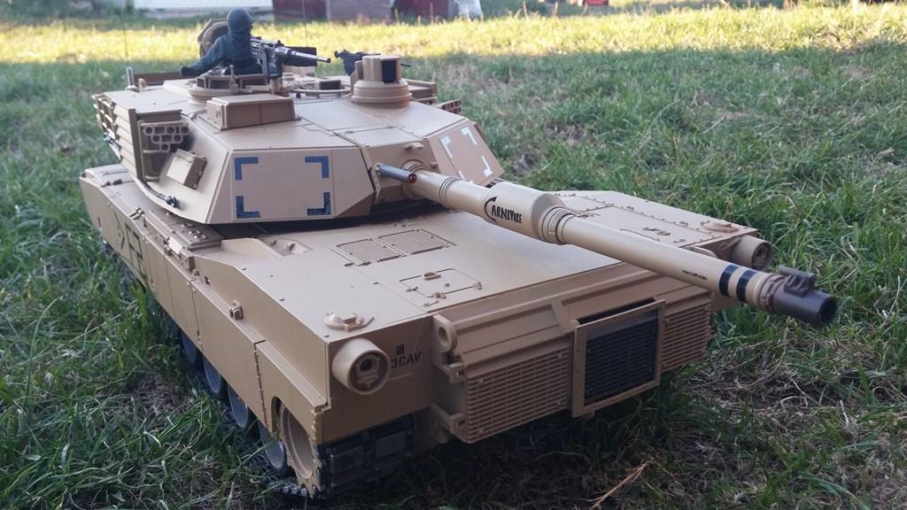 [VENDS] Tank 1/16 Heng Long M1A2 Abrams + beaucoup d'options.  20150905_193652-4ca0320