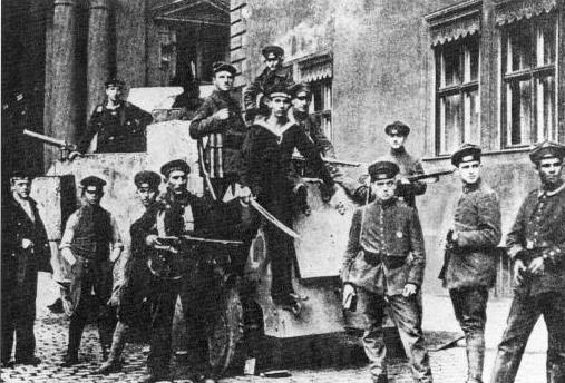 Les Freikorps,  1e partie,  Berlin Volksmarine-1a19aa8