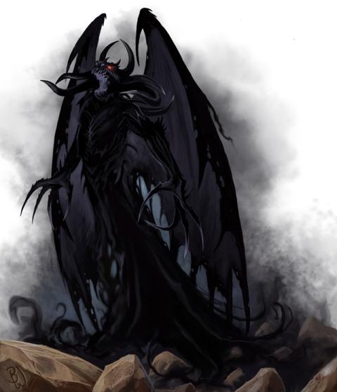 Archive - [RP Officiel - Quête des Deux Lunes] La pierre des Morts aux regards des Spectres. - Page 3 Shadow-demon-21da14c