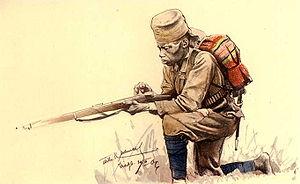 Les colonies allemandes : Deutsch Öst Afrika  Askari-1087288