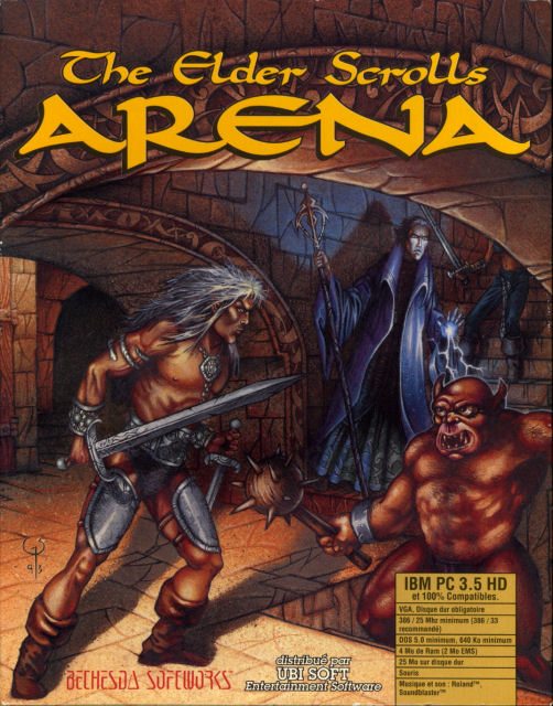 ESTIM JEU PC THE ELDER SCROLLS ARENA DISQUETTE 1994 3196tes-arena_top-2eb1317