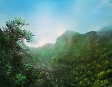 Carte du Monde Forest_by_frankhong-12917b6-306e00c
