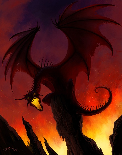 V1 - [RP-Quête] Le Tombeau des Secrets Black_dragon_by_tyrus88-2a98ef9