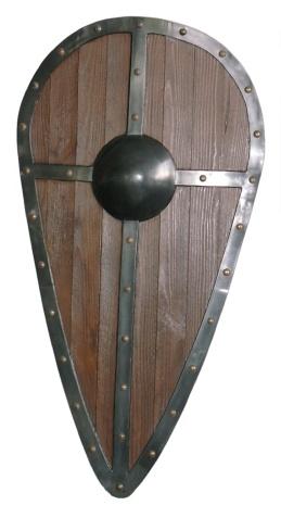La Chevalerie Médiévale Bouclier-amande-2e9a742