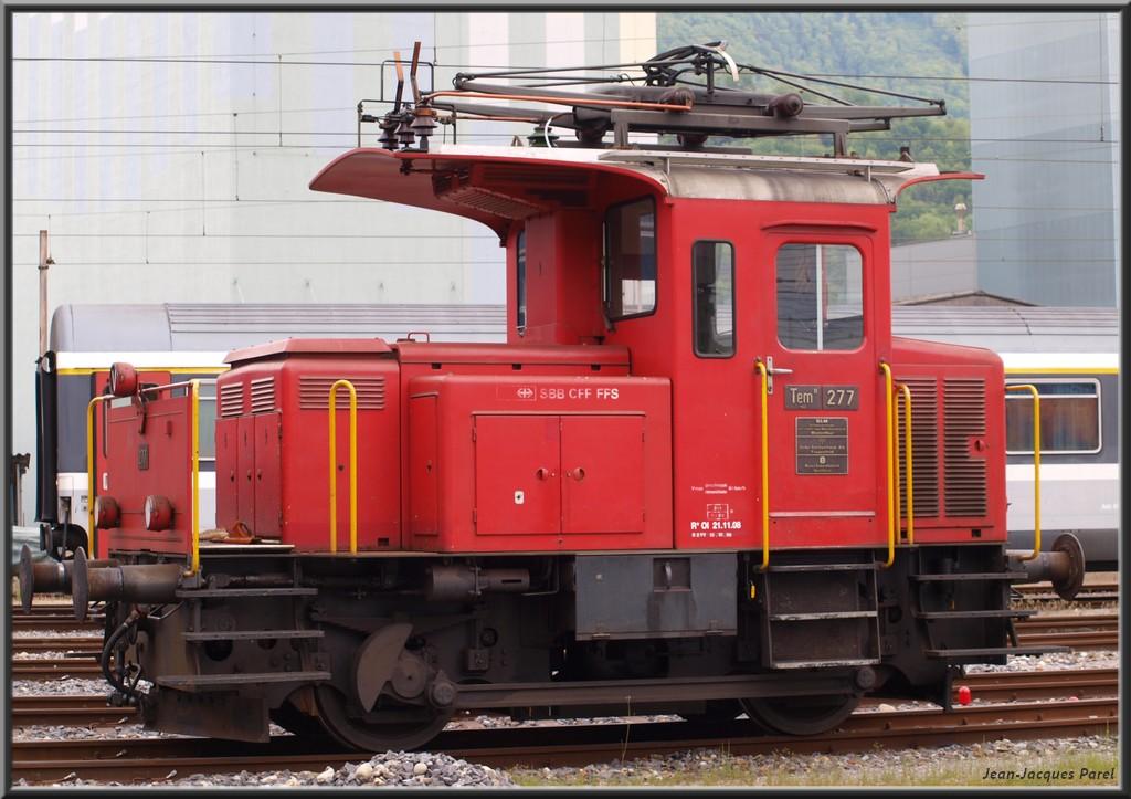 Spot du jour ferroviaire. Nouvelles photos postées le 28 Novembre 2016 Tem-ii-277-cff_01-356e540