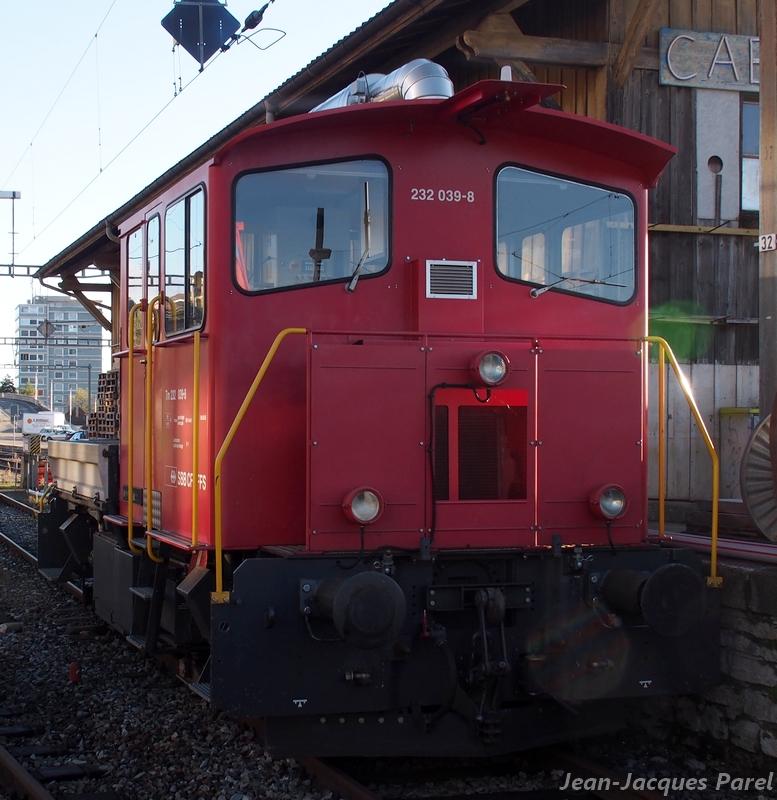 Spot du jour ferroviaire. Nouvelles photos postées le 28 Novembre 2016 Tm-232-039-cff_01-3958450