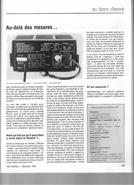 Nytech CTA 252 XD2-Nova Aquisição Tec-002-3c1091a