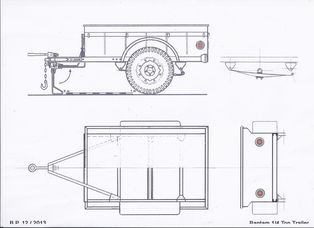 Jeep Danbury 1/16e, motorisée Sumo + remorque Bantam 1/4 t 5-427c3ae