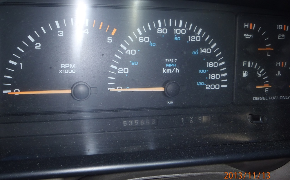 Performance de longévité du moteur VM 2.5 diesel. Pb130004-535.653-421f5a2