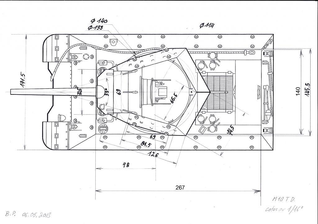 3-inch Gun Motor Carriage M 10 Tank Destroyer M10-t.d.-aa-3dfde12