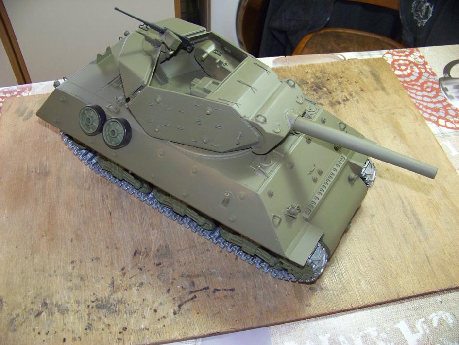 3-inch Gun Motor Carriage M 10 Tank Destroyer 6-3e9e587