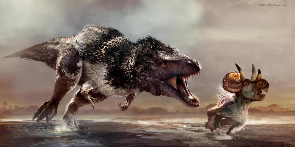 Así podría ser el Tyrannosaurus Rex realmente Feathergate4-40f42b1