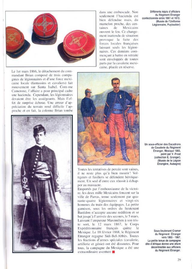 """l heure de la legende """"Legio Patria Nostra Mexique 1863 """" 13-sslieut-cramer-41cf03e"""