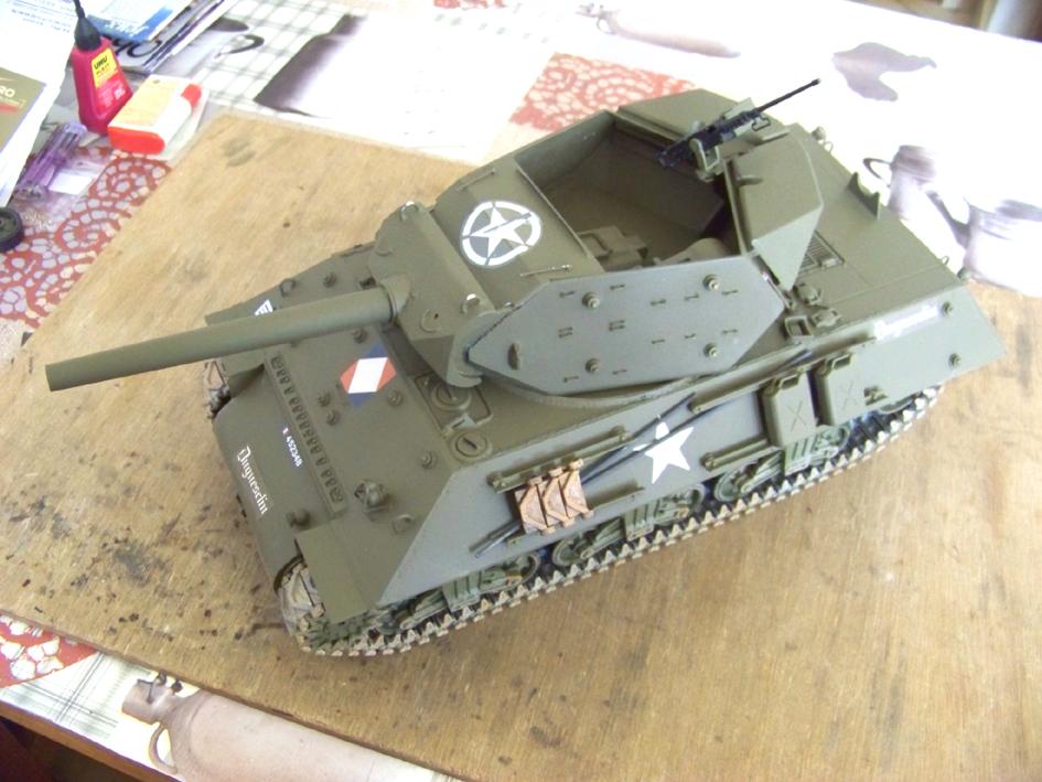 3-inch Gun Motor Carriage M 10 Tank Destroyer 61-3ef178f