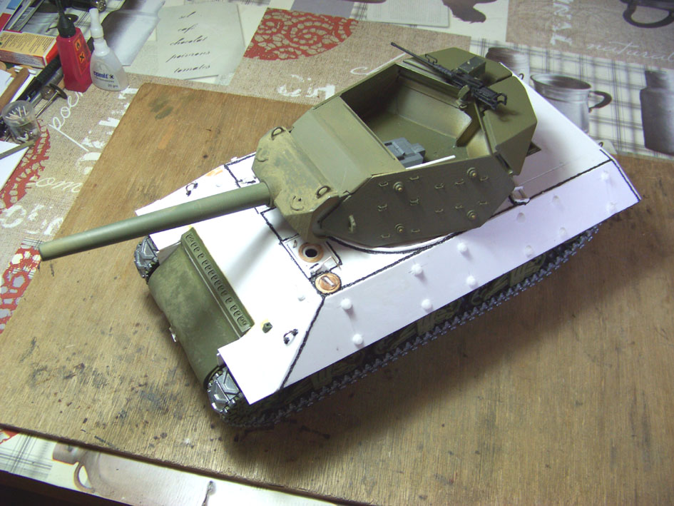 3-inch Gun Motor Carriage M 10 Tank Destroyer 102-3e73b3e