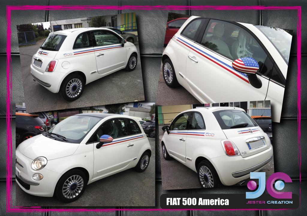 Vends Sticker Renault Replica - Stripping - et autres modeles  - Page 2 Fiat-500-america-3f79e76